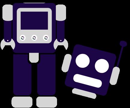 Headless robot to represent headless CMS